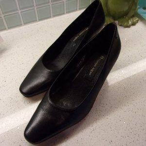 Etienne Aigner Black Leather Pumps SZ 10 Heels